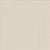 Coton vichy beige 5 mm