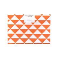 Coupon 40x60 cm coton orange vintage