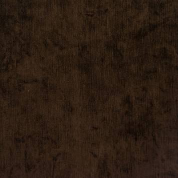 Jacquard velours marron foncé