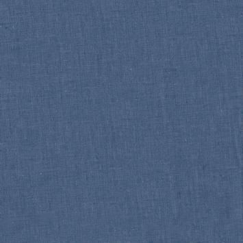 Tissu jean chambray bleu