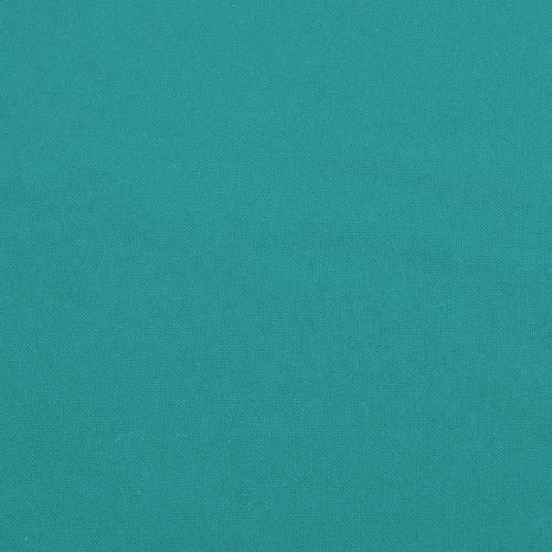 Burlington infroissable grande largeur bleu turquoise