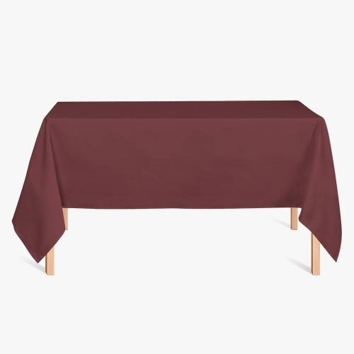 Burlington infroissable grande largeur bordeaux