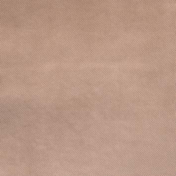 Simili cuir motif points incrustés rose gold
