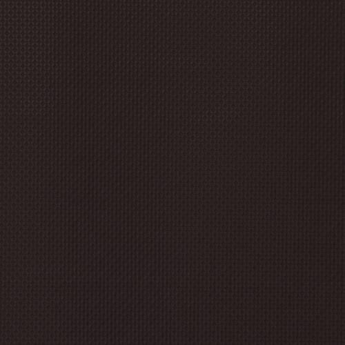 Simili cuir laqué motif carrés incrustés marron