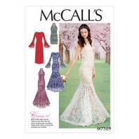 Patron Mc Call's M7569 Robes pour jeune femme 42-50