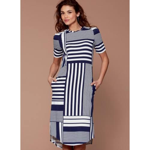 Patron Mc Call's M7574 Hauts, tunique et robe pour jeune femme 34-42
