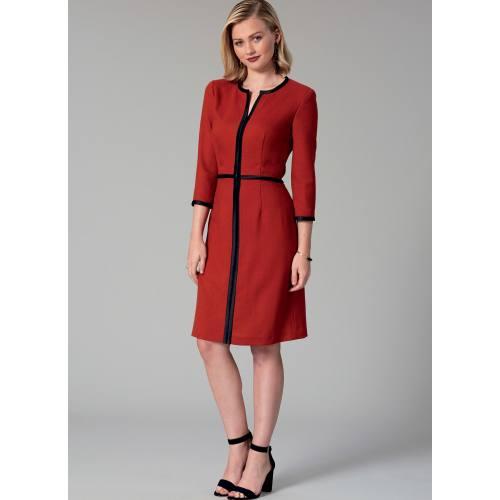 Patron Mc Call's M7506 Robes pour jeune femme 34-42