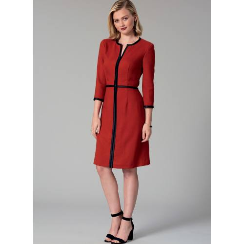 Patron Mc Call's M7506 Robes pour jeune femme 42-50