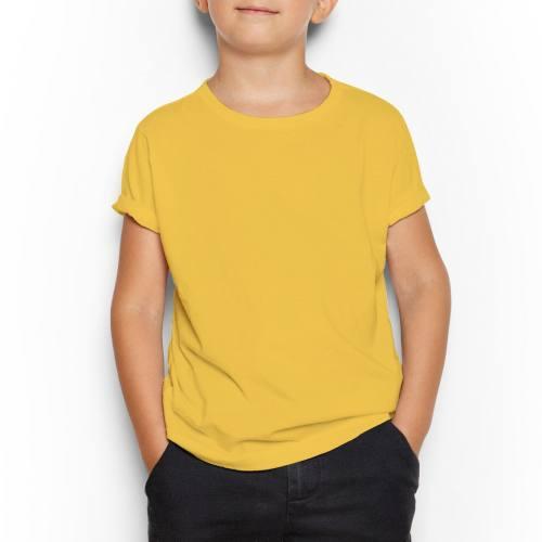 Jersey uni jaune
