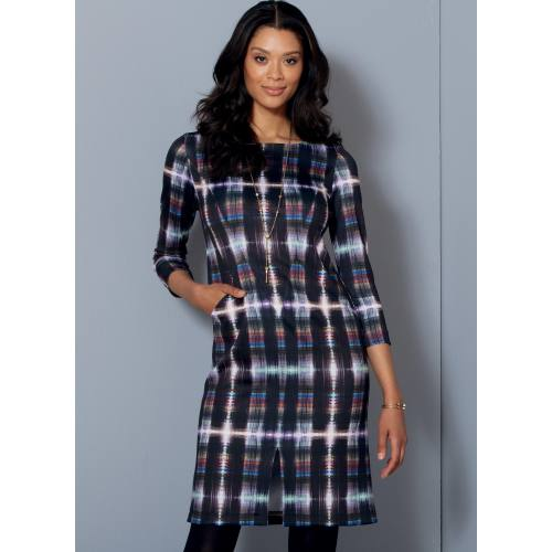 Patron Mc Call's M7469 : Robes pour jeune femme 42-50
