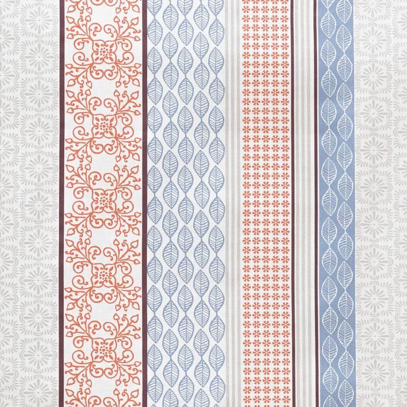 Coton imprim patchwork bleu rouge et gris pas cher - Tissus rouge pas cher ...