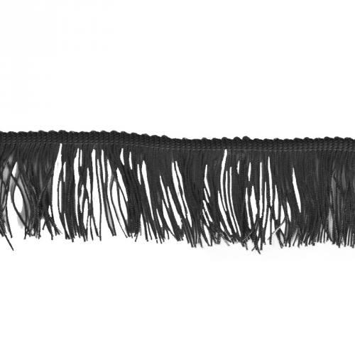 Frange Charleston noire 50mm