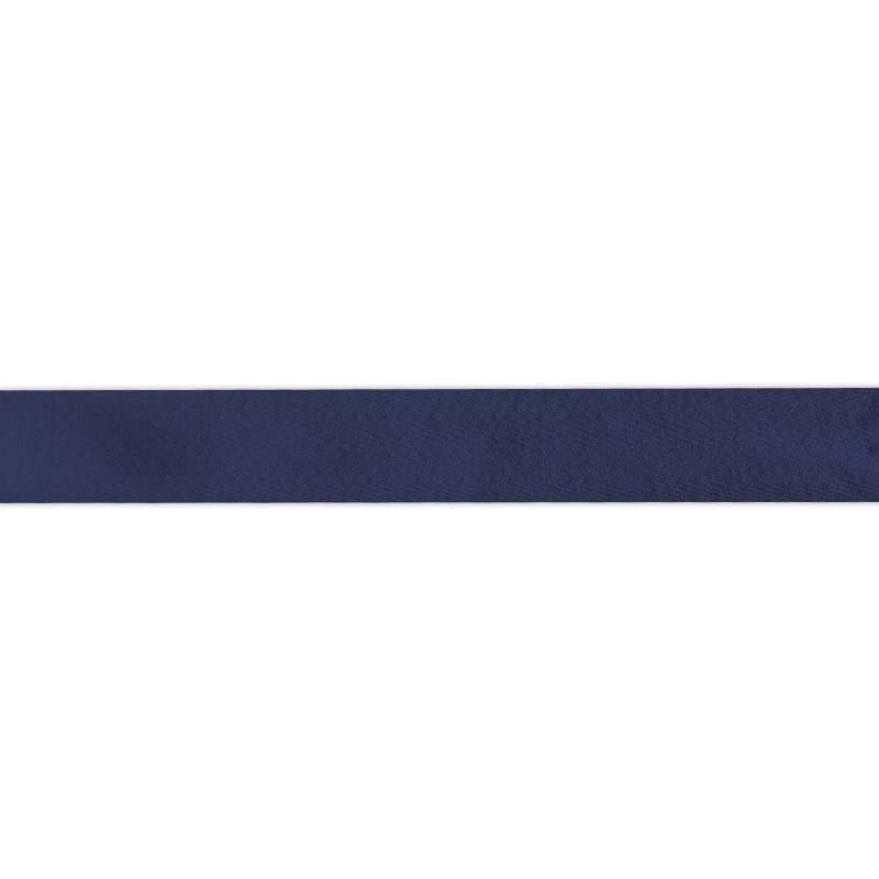Ruban sergé bleu marine 25mm