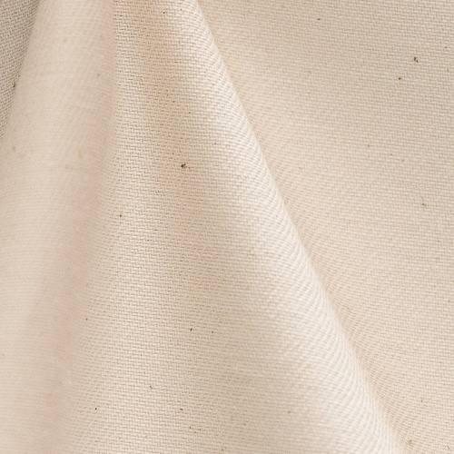 Demi-natté de coton bio naturel grande largeur