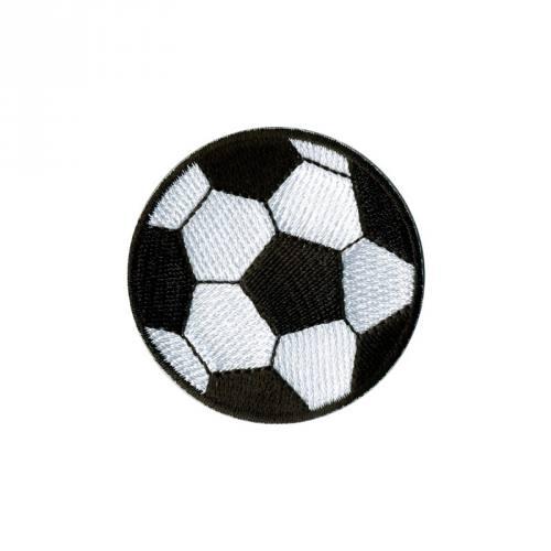 """Écusson brodé """"Ballon de Football"""" thermocollant"""