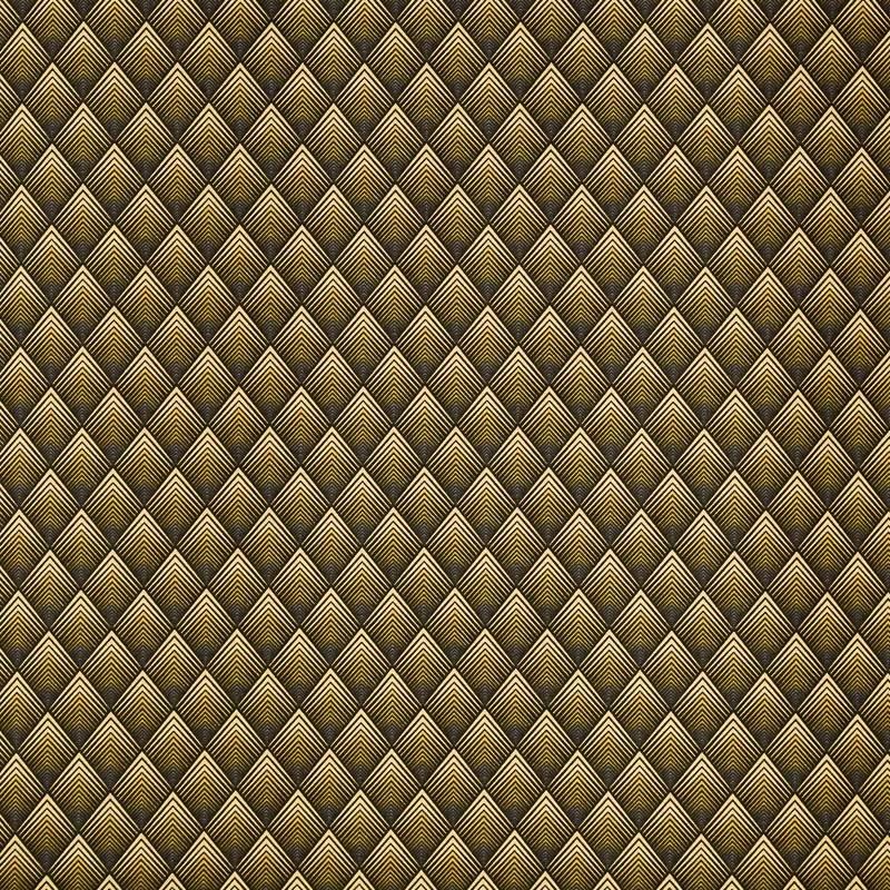 Coton jaune motif losange pas cher tissus price - Tissu occultant pas cher ...