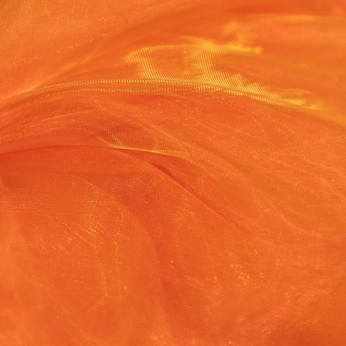 Organza bicolore orange et jaune