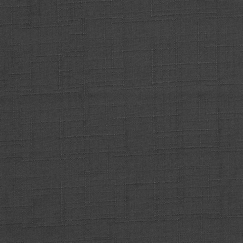 Toile polyester aspect lin gris foncé