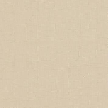 Toile polyester aspect lin crème