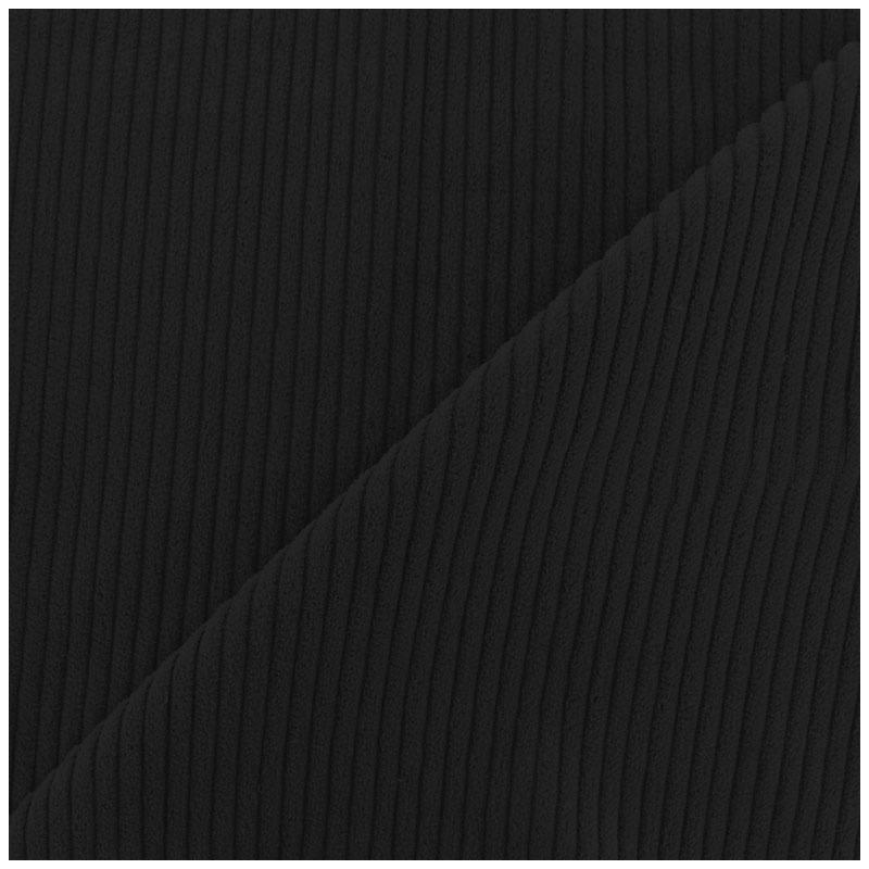 velours c tel noir pas cher tissus price. Black Bedroom Furniture Sets. Home Design Ideas