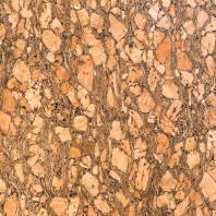 Tissu de liège or