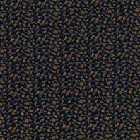 Jersey viscose bleu marine imprimé petites fleurs