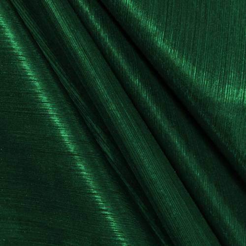 Maille lurex côtelé vert