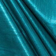 Maille lurex côtelé bleue