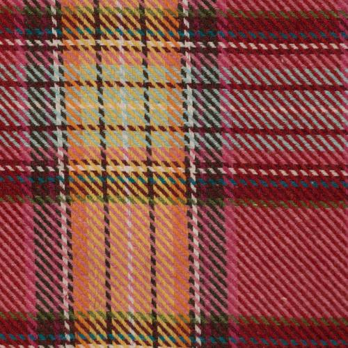 Lainage multicolore motif écossais
