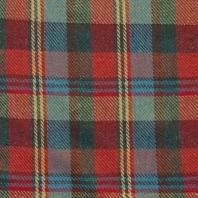 Lainage rouge, vert et bleu motif écossais