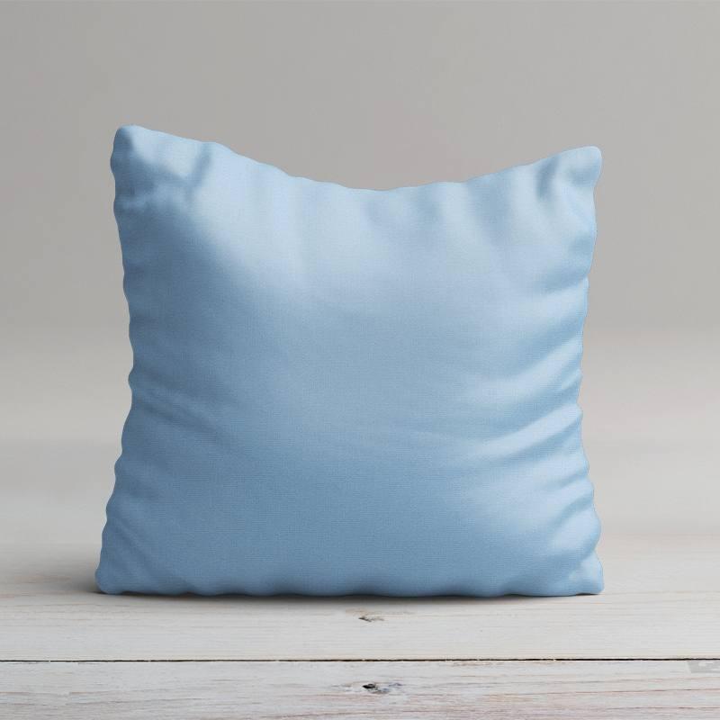 Tissu coton bleu ciel grande largeur