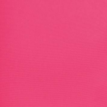 Tissu coton rose grande largeur