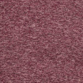 Lainage pour pull chiné violet