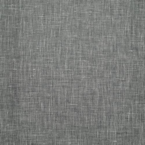 Lin enduit chiné gris souris
