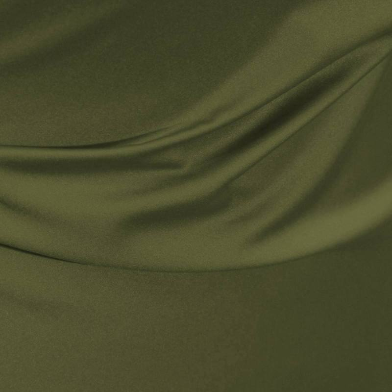 satin microfibre royal vert olive pas cher tissus price. Black Bedroom Furniture Sets. Home Design Ideas