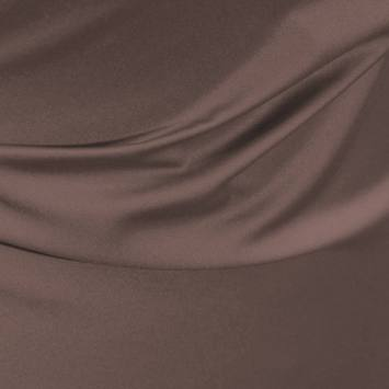 Satin microfibre royal taupe