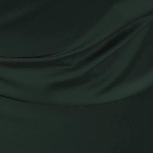 Satin microfibre royal vert anglais