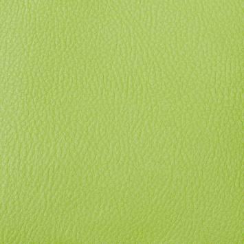 Simili cuir uni vert pomme