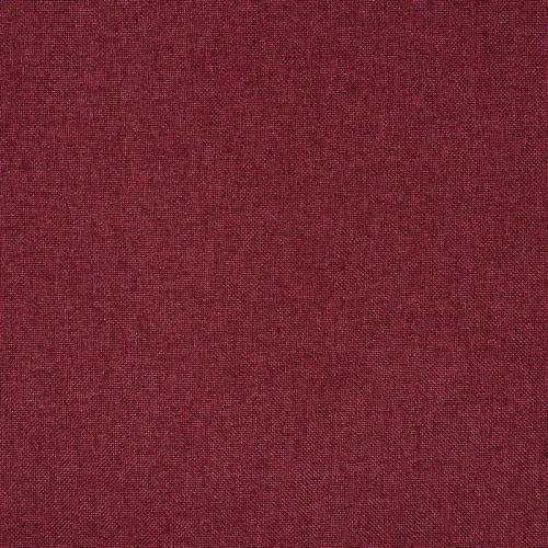Toile polyester natté rouge carmin