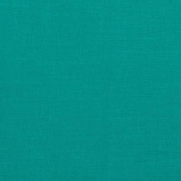 Voile de coton bleu turquoise