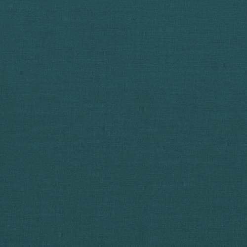 Voile de coton bleu canard