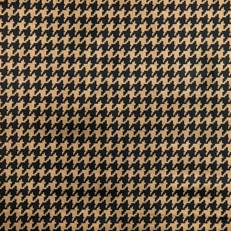 simili cuir bronze imprim pied de poule pas cher tissus price. Black Bedroom Furniture Sets. Home Design Ideas