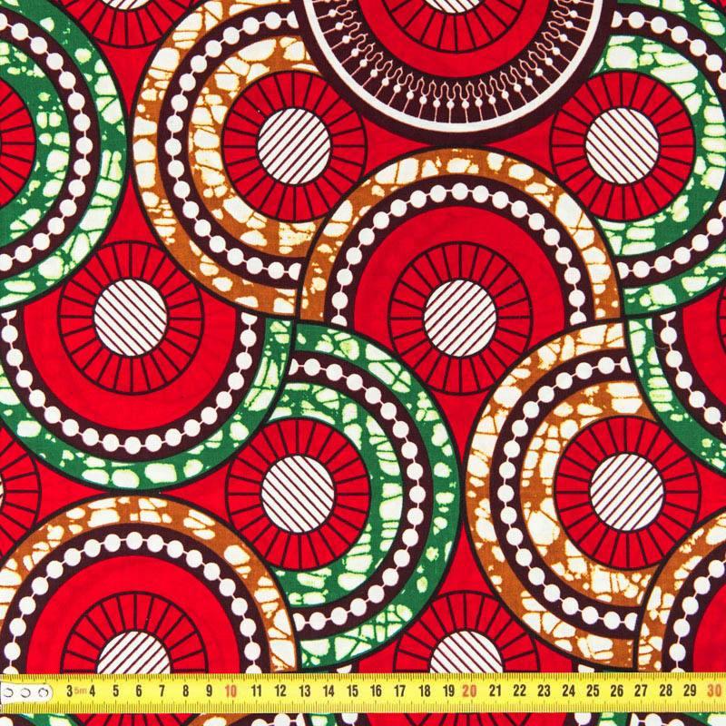 tissu africain photo