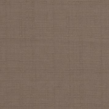 Toile polyester aspect lin gris clair