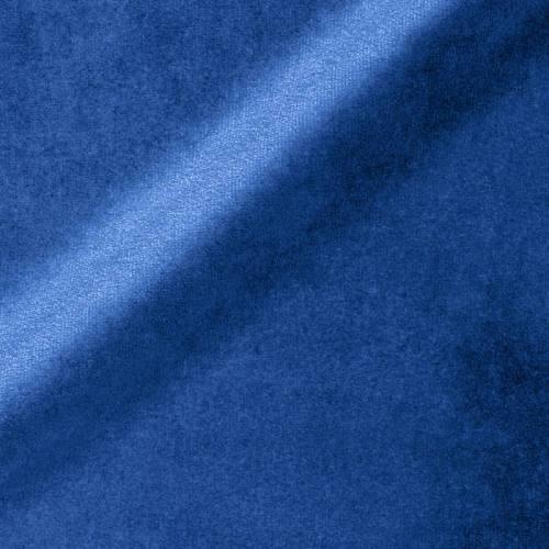 Velours uni bleu 450 gr