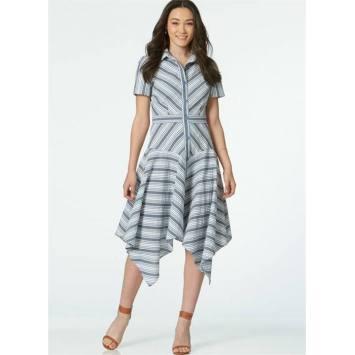 Patron McCall's M7623 : Robes pour jeune femme 34-42