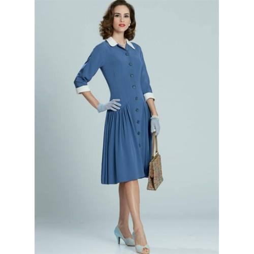 Patron McCall's M7625 : Robes pour jeune femme 34-42