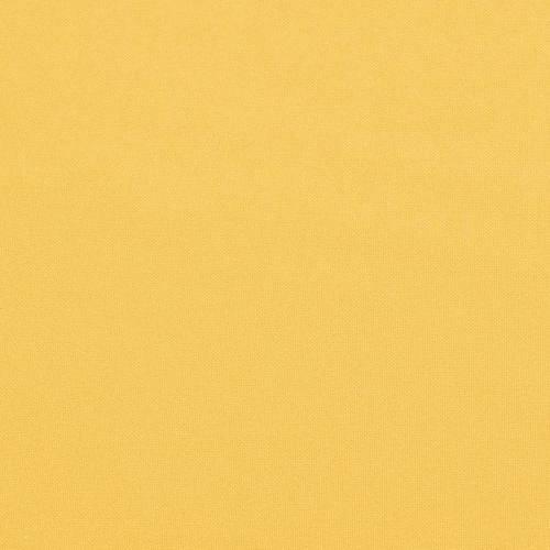 Burlington infroissable grande largeur jaune blé