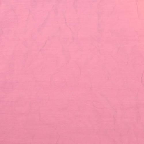 Toile polyester plissée rose