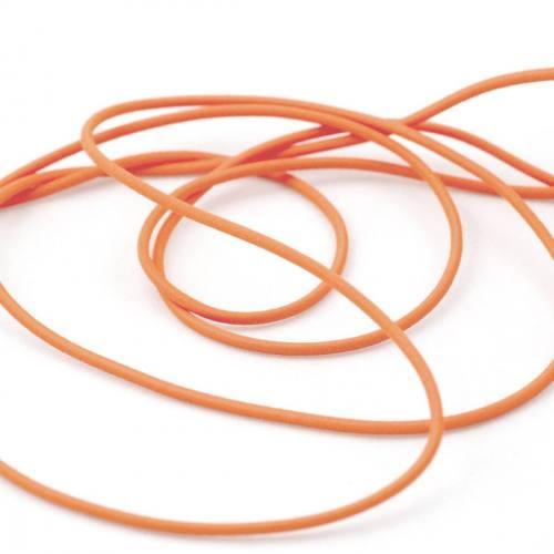 Cordon élastique 3 mm - orange